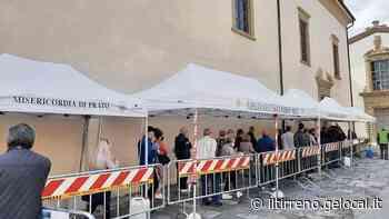 Ressa vaccini al Pellegrinaio: arriva la municipale - Il Tirreno Prato - Il Tirreno