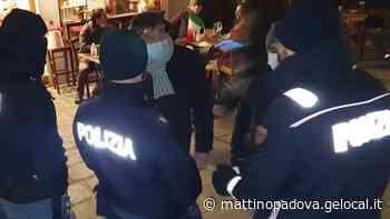 Protesta no vax in Prato della Valle. In 14 identificati e denunciati - Il Mattino di Padova