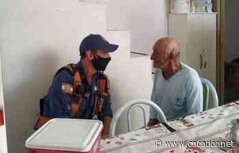 Saiu sem rumo: Bombeiros encontram idoso com Alzheimer em Curitibanos - Caçador Online