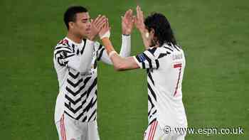 Cavani helps Greenwood eclipse Ronaldo, Rooney in Man United history books