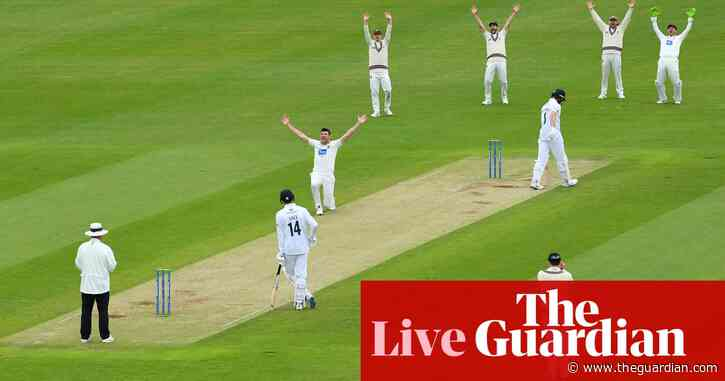 Nottinghamshire thrash Essex, Somerset beat Hampshire and more: county cricket – live!