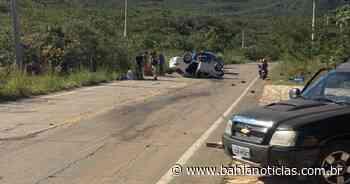 Chapada Diamantina: Acidente entre carro e caminhonete deixa um ferido - Bahia Notícias