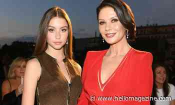 Catherine Zeta-Jones and daughter Carys steal the show in home video with star's glamorous mother - HELLO!