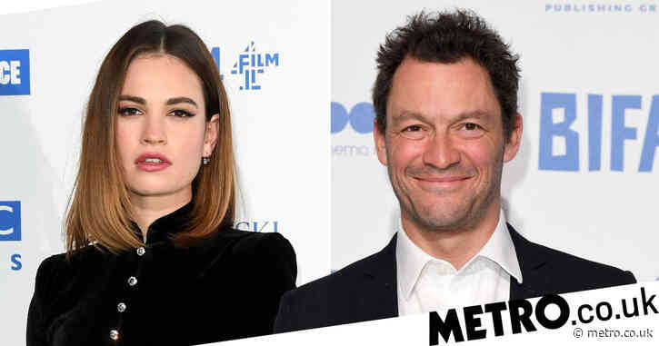 Dominic West 'concerned Lily James will speak out about those Rome pictures' as he 'cuts off contact with her'