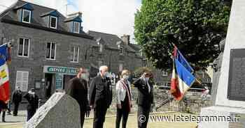 8-Mai à Pleurtuit : Albert Bertaud et Pierre Haguet reçoivent la Croix du combattant - Le Télégramme