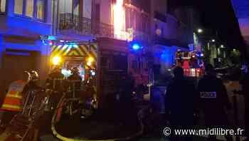 Avenue Albert-1er, le feu fait une victime - Midi Libre