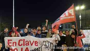 El frente de izquierda sale segunda fuerza en el centro de estudiantes de trabajo social UNPAZ - La Izquierda Diario