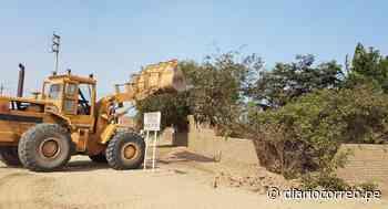 La Libertad: Recuperan terreno invadido en zona arqueológica de Huaca de la Luna - Diario Correo