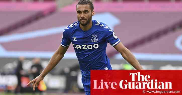 West Ham United 0-1 Everton: Premier League – live!