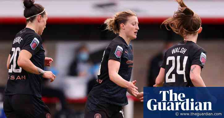 Ellen White's volley ensures Manchester City finish WSL with win at West Ham