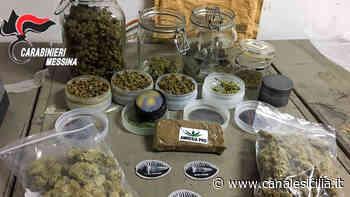 Piraino - Trovato con oltre 400 grammi di droga, tra hashish e marijuana, arrestato 31enne di Ficarra - CanaleSicilia