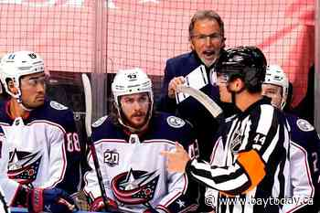 Tortorella out after 6 years as Columbus Blue Jackets coach