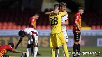 Benevento-Cagliari: le pagelle. Cragno decisivo 7,5, Lapadula trascinatore 7