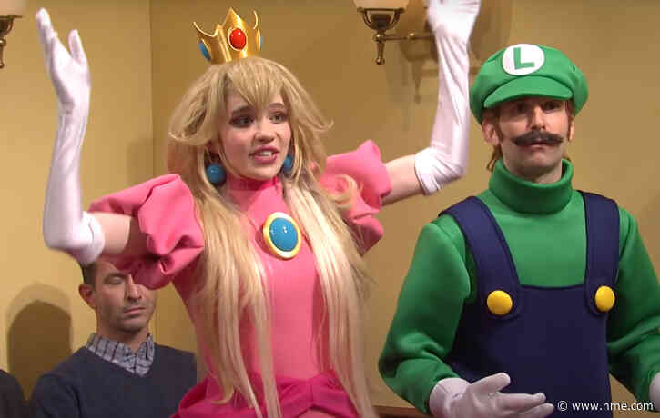 Watch Grimes join Elon Musk's 'SNL' episode as Princess Peach