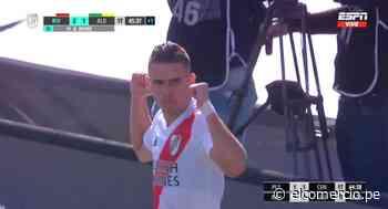 River Plate vs. Aldosivi: Santos Borré anotó el 2-1 después de gran jugada colectiva | VIDEO - El Comercio