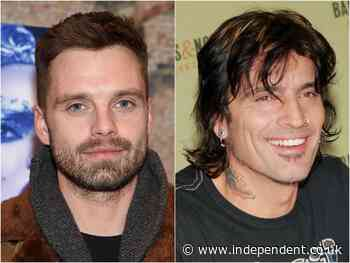 Sebastian Stan is identical to Tommy Lee in first photo from new Pamela Anderson series - The Independent