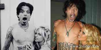 Photos: Sebastian Stan and Lily James as Tommy Lee, Pamela Anderson - Insider