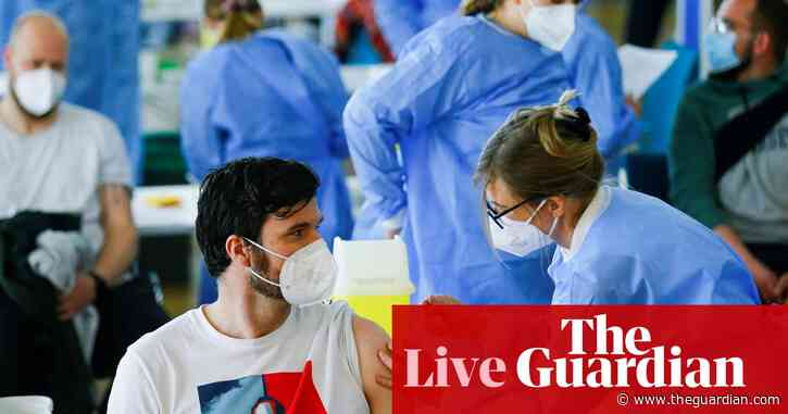 Covid live news: EU not renewing orders for AstraZeneca jabs after June; third of UK adults fully vaccinated
