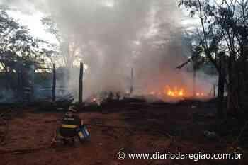 Incêndio atinge empresa de reciclagem em Tanabi - Diário da Região