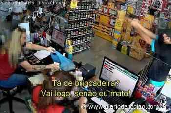 Armado, ladrão assalta loja em Tanabi: 'Vai logo, senão eu mato' - Diário da Região