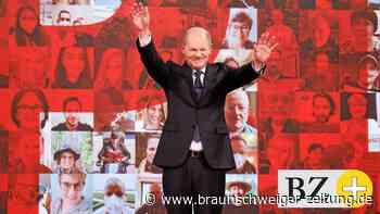 Kanzlerkandidat: SPD-Parteitag: Olaf Scholz - Dirigent mit kleinem Orchester