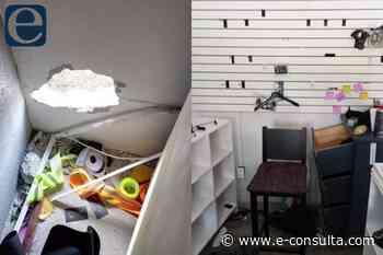 Hacen boquete para robar tienda de equipo táctico en Huauchinango 13:10 - e-consulta