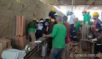 Dos trabajadores murieron tras el colapso de una ladrillera en Fredonia - Caracol Radio