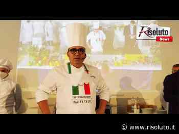Da Mosca all'Istituto alberghiero di Sciacca per uno show cooking, torna a casa chef Lorenzo Guardino (Video) - Risoluto