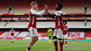 'The future of Arsenal' – Twitter gushes over Saka and Smith-Rowe