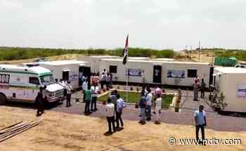 Covid Care Centres Set Up, Almost Overnight, In Rajasthan Desert - NDTV