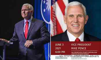 Mike Pence fuels speculation of 2024 run as he headlines GOP fundraiser in New Hampshire in June