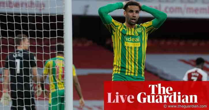 Arsenal 3-1 West Bromwich Albion: Premier League – live!