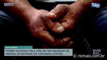 Homem acusado de abusar de crianças no Cajuru se denfende em entrevista com BG - RIC - RIC Mais