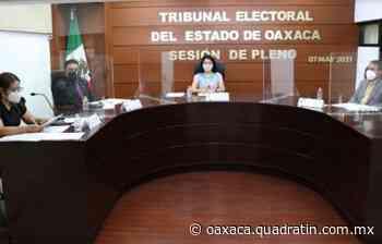 Revoca Tribunal registro de candidato a diputado local en Loma Bonita - Quadratín Oaxaca