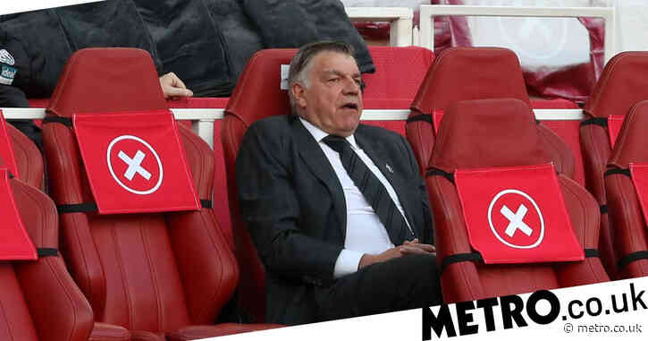 West Brom boss Sam Allardyce reacts to being relegated from Premier League for first time after Arsenal defeat