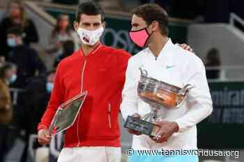 Rafael Nadal: 'I played a perfect match against Novak Djokovic at Roland Garros' - Tennis World USA