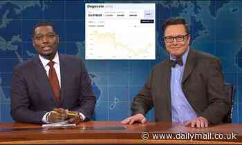'Dogefather' Elon Musk tries to explain Dogecoin cryptocurrency craze during SNL skit