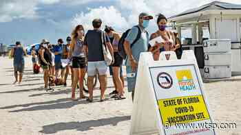 Coronavirus in Florida: State reports 3,231 new COVID-19 cases, 33 deaths - WTSP.com
