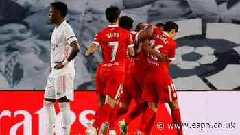 Real grab late draw with Sevilla but remain behind Atletico