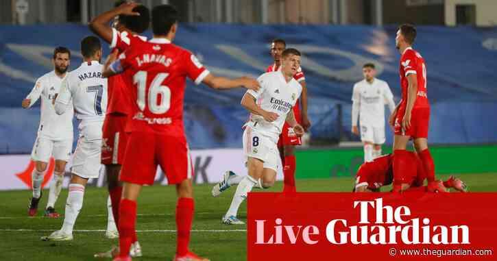 Real Madrid 2-2 Sevilla: La Liga – live reaction!