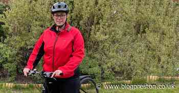 Charity worker cycling length of Lancashire for Rosemere Cancer Foundation - Blog Preston