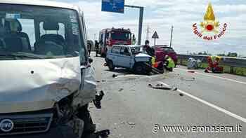 Perde conoscenza in un'incidente, 46enne residente a Zimella in ospedale - VeronaSera