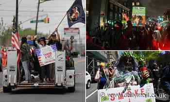 New York veterans' group threatens to SUE city if Memorial Day parade is prohibited