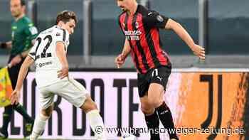 Serie A: Juventus bangt nach 0:3 gegen AC Mailand um Champions League