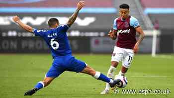West Ham top-four hopes dented by loss