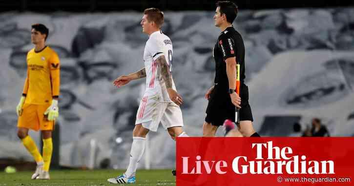 Real Madrid 2-2 Sevilla: La Liga – as it happened