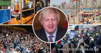 Boris Johnson to confirm lockdown changes at press conference