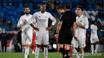Militao's tough week continues in 5/10 showing vs. Sevilla