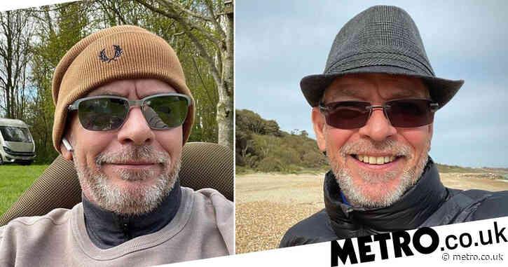 EastEnders star Adam Woodyatt unrecognisable as he grows beard while living in motorhome after split from wife