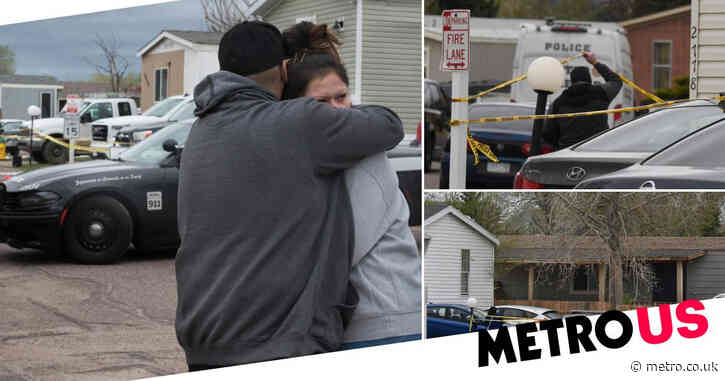 Man shoots six dead including girlfriend in front of children at birthday party